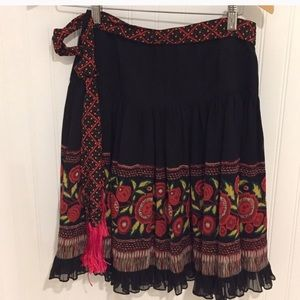 ANTHROPOLOGY ANA SUI BOHO SKIRT